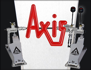 Axis: precision engineered bass drum pedals for drumming professionals