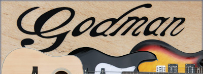 Godman guitars by Dick Visser Music Sales
