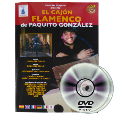 Paquito Gonzalez El Cajon Flamenco