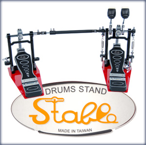 Stable drum hardware; quality at an affordable level
