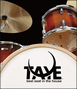 Taye Drums: dedicated to making great sounding drums.