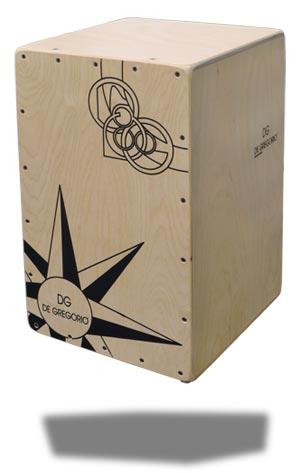De Gregorio DG cajons distributed by Dick Visser Music Sales