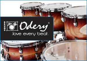 Odery drums - Benelux distribution by Dick Visser Music Sales