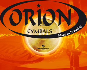 Orion Cymbals, made in Brazil. Benelux import: Dick Visser Music Sales