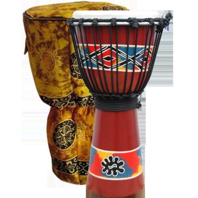 GO Percussion Dejembe Adinkra, inclusief tas