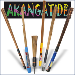 Akanga Rods, Brushes and handheld percussion