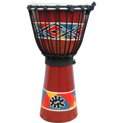 Go Percussion Djembe Adinkra