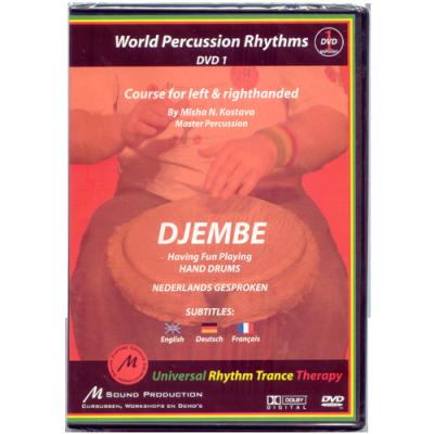 GO Percussion DVD-KOST1 Djembé cursus - deel 1