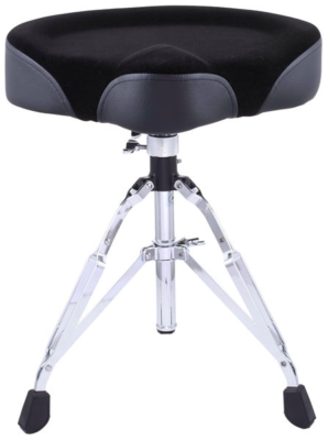 Stable drumthrone saddle seat