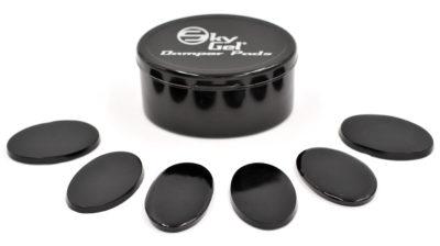 SGDP/6 SkyGel Onyx Black, damping pad
