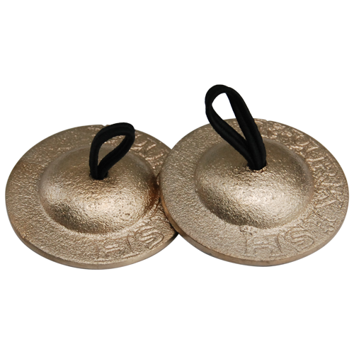 GO-FCS Finger cymbals set of 4 brass - Dick Visser Music ...