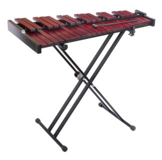 GO-XYC501 Tafel xylofoon 3-oct. met tas & standaard