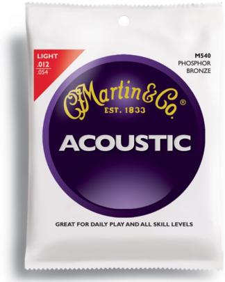 Martin M540 akoestische snatren set phosfor bronze