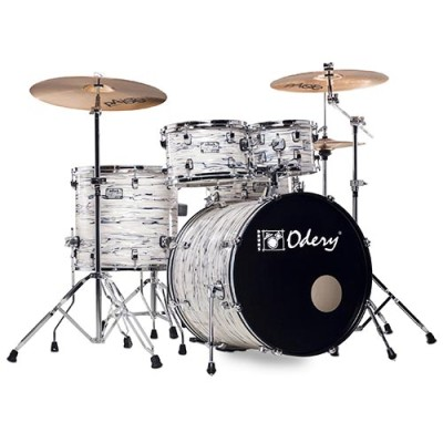 Odery IR200 drumkit PolarTiger including hardware