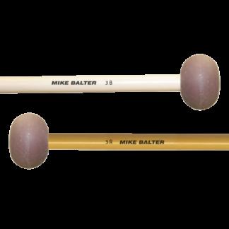Mike Balter 3B marimba mallets, berken of rattan stick