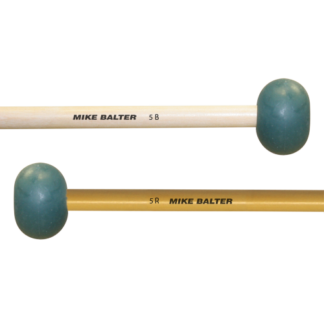 Mike Balter 5B/5R marimba mallets, berken of rattan stick