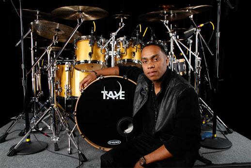 Taye Drums endorser Charles Streeter
