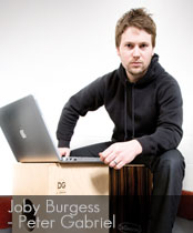 DG cajons endorser Joby Burgess