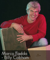 DG cajons endorser Marco Fadda