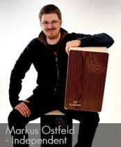 DG cajons endorser Markus Ostfeld