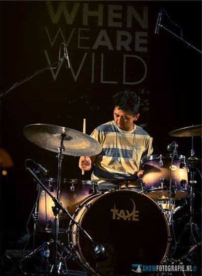 Taye Drums endorser Pandu Windartono