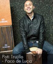 DG cajons endorser Poti Trujillo