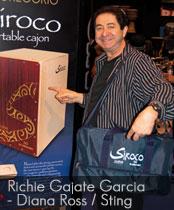 DG cajons endorser Richie Gajate Garcia