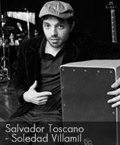 DG cajons endorser Salvador Toscano