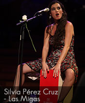 DG cajons endorser Silvia Perez Cruz