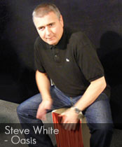 DG cajons endorser Steve White