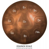 Zenko tongue drum 9-tonig Equinox