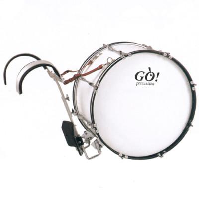 GO Percussion GO-JBMB2212 Marching Bassdrum