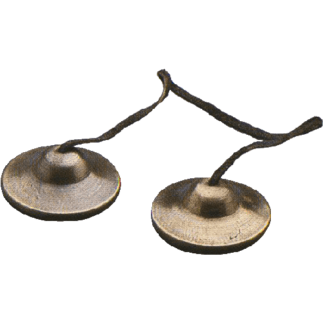 GO Percussion Thai Crotales, 6 cm. pair