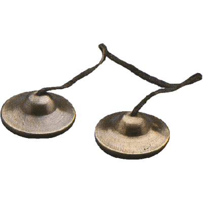 GO Percussion Thai Crotales, 6 cm. pair