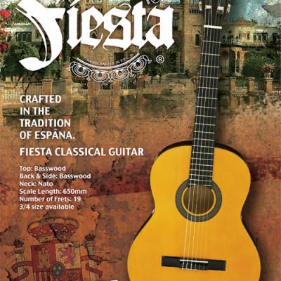 Fiesta (by Aria) Klassieke gitaar 4/4