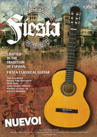 Fiesta (by Aria) Klassieke gitaar 3/4