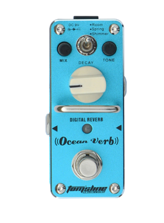 ARO-AOV3 Aroma Toms Line Ocean verb effect mini pedal