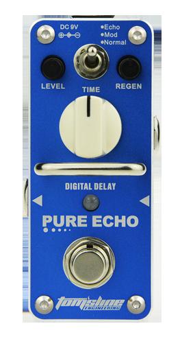 ARO-APE3 Aroma Toms Line Pure echo mini pedal