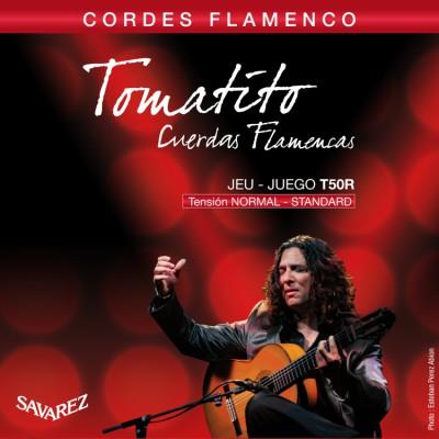 SAV-T50R Tomatito flamenco snaren set