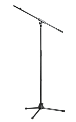 K&M-27105-300-55 Microffon stand black economy