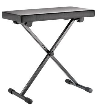 K&M-14065-000-55 Piano bank zwart