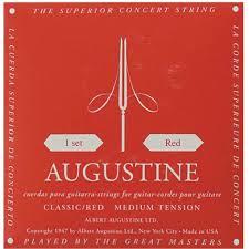 AUG-RED/SET Augusine snaren set red , hard tension