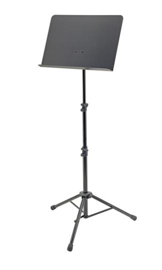 K&M-11870-015-55 Muziek lessenaar met dicht blad