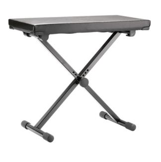 K&M-14075-000-55 Keyboard bank de luxe met leren bekleding