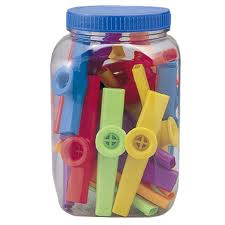 GO-KZC01 plastic kazoo ( box of 40 pcs. )