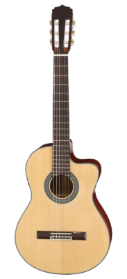 ARIA-AK30CE-N klassiek gitaar met cut-away & pick-up, naturel