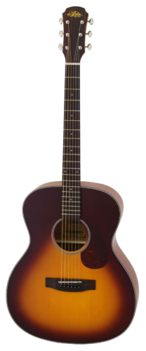 ARIA-101-MTTS western gitaar, mat, sunburst
