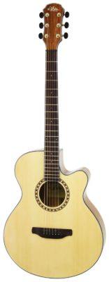 ARIA-TG1N Western gitaar met cut-away
