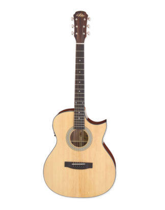 ARIA-205CE/N Accoustic guitar with cut-away & electronics