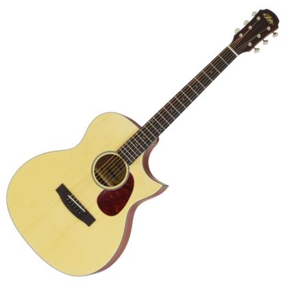 ARIA-101CE-MTN Wester guitar met cutaway & pickup